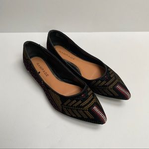 Rampage Pointed Ballet Flats 8